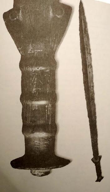 bronzový meč púchovská skala
